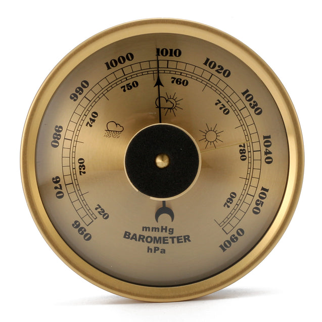 IPRee EDC Outdoor Climbing Barometer Weather Rain Glass Air Pressure Gauge 960~1060hPa