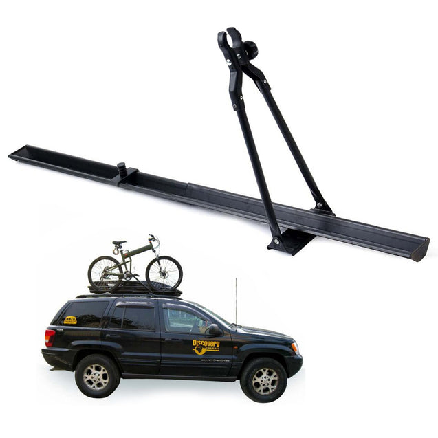 BIKIGHT Universal Car Roof Bike Carrier Top Mount Rack Bicycle Racks Travel Outdoors 150cm Fit for M
