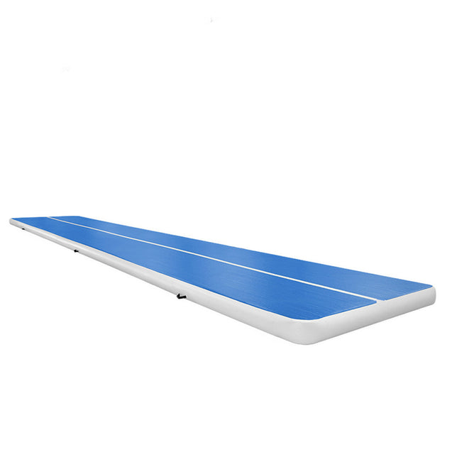 157x79x8inch Airtrack Gymnastics Mat Inflatable GYM Air Track Mat Gym Mat Tumbling Cheerleading Pad