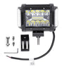 3.5 Inch 72W LED Work Light Bar Side Shooter Flood Spot Combo Beam for Jeep Offroad ATV SUV