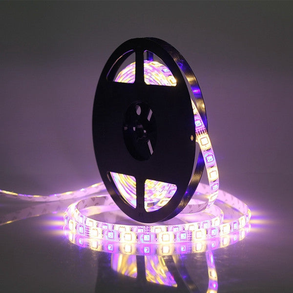 5M SMD 5050 300 LED Waterproof RGBWW Strip Flexible Tape Light Christmas Home Decoration Lamp DC12V