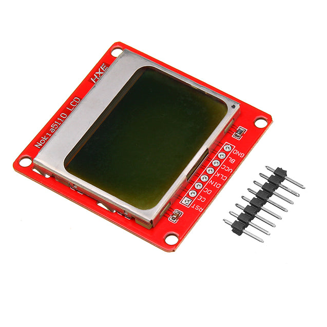 5110 84x48 LCD Display Module White Backlight For Arduino UNO Mega Prototype