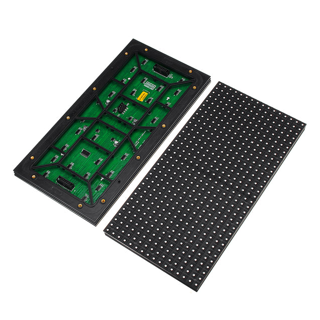 320*160 Waterproof P10 DIP SMD LED Display Module Full Color Advertising Module Sign Board Wall Dis