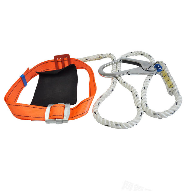 200kg Max Load Aerial Work Rope Climbing Rope Belt Outdoor Mountaineering Belts Security Protection