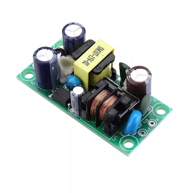 5Pcs AC to DC Switching Power Supply Module 220V to 15V 0.4A Step Down Module Converter Board