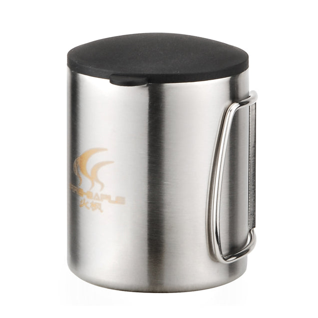 Fire-Maple 220ml Portable Camping Picnic Cup Stainless Steel Light Weight 115g Water Mug FMP-301