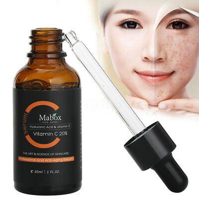 MABOX Natural Lemon Vitamin C Serum Whitening Anti-Aging Wrinkle Essence
