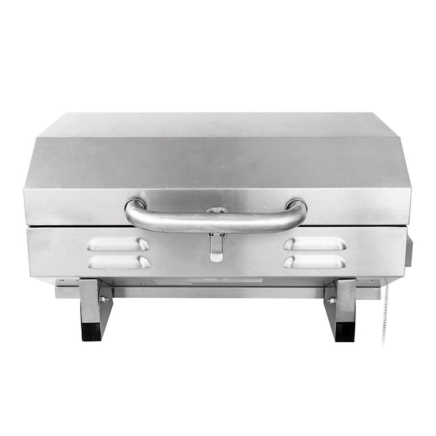 5-10 People Outdoor BBQ Barbeque Grill Stainless Steel Gas Cooking Stove Burner Oven Camping