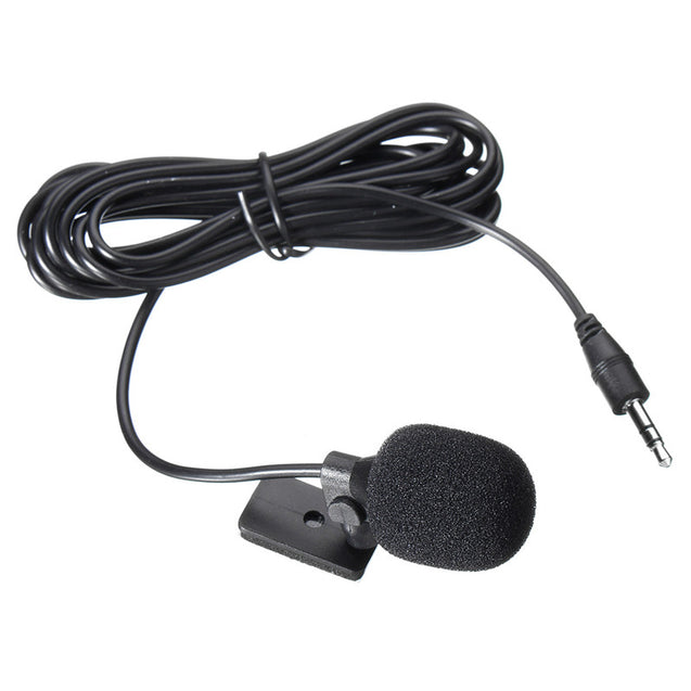3.5mm Hands Free Stereo Microphone External Car GPS bluetooth Enabled Audio Chat