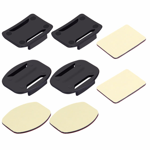 PULUZ PU09 Curved Flat Surface Mounts Stickers for Action Sport Camera