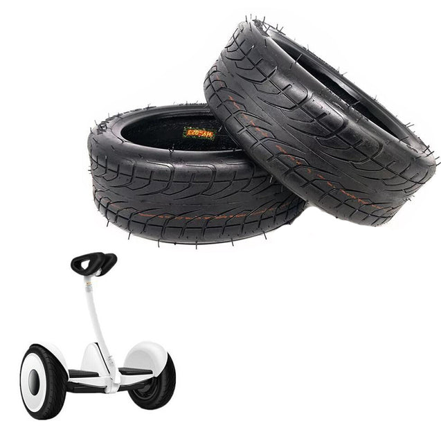 BIKIGHT 10inch Scooter Tire For Xiaomi Balancing Scooter 70/65-6.5 10/3.0-6.5 Vaccum