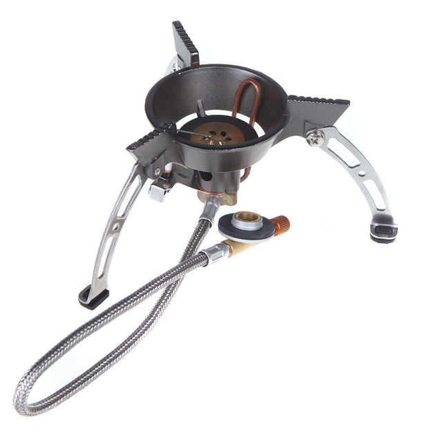 BRS-11 High Altitude Windproof Gas Stove Portable Camping Picnic Burner Cooker 1940W