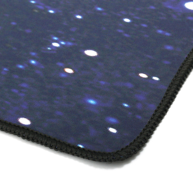 900x400x2.5mm Blue Star Sky Anti-Slip Large Mouse Pad Keyboard Pad Mat