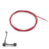 BIKIGHT 200cm Scooter Rear Brake Line Steel Wire Braided Brake Hose Tubing Bike Brake Cable For