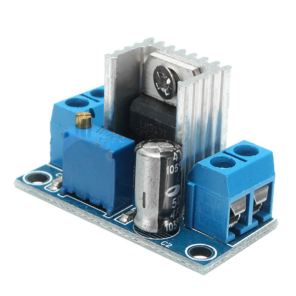 5pcs LM317 DC-DC 1.5A 1.2-37V Adjustable Power Supply Board DC Converter Buck Step Down Module