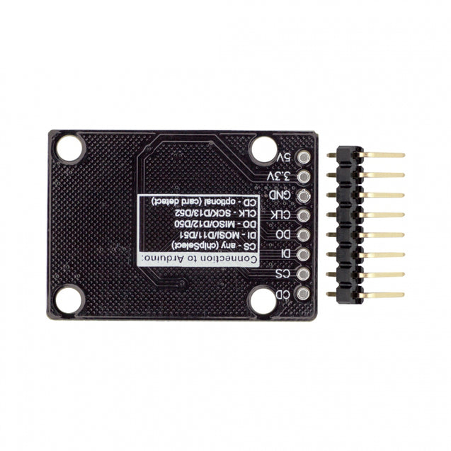 3Pcs RobotDyn Micro SD Card High Speed Module For 3.3V 5V Logic For MicroSD MMC Card