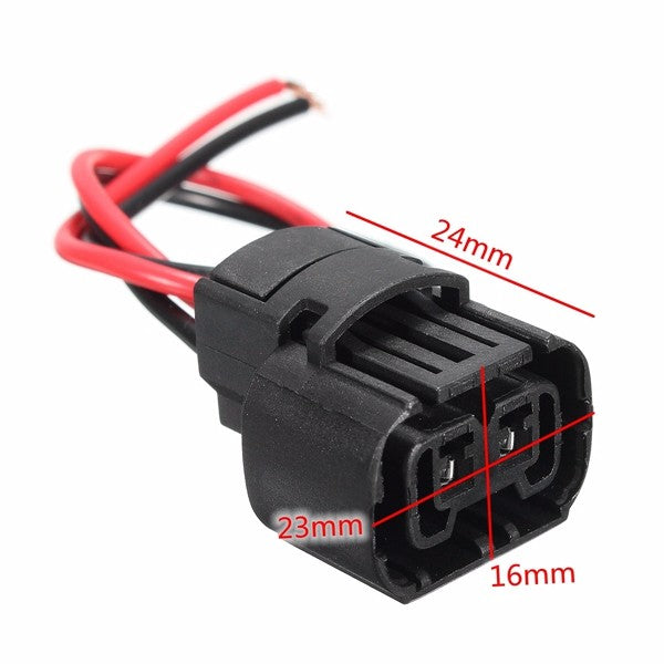 5202 H16 Wiring Harness Plug 2504 PS24W Car Fog Light Bulb Female Connector