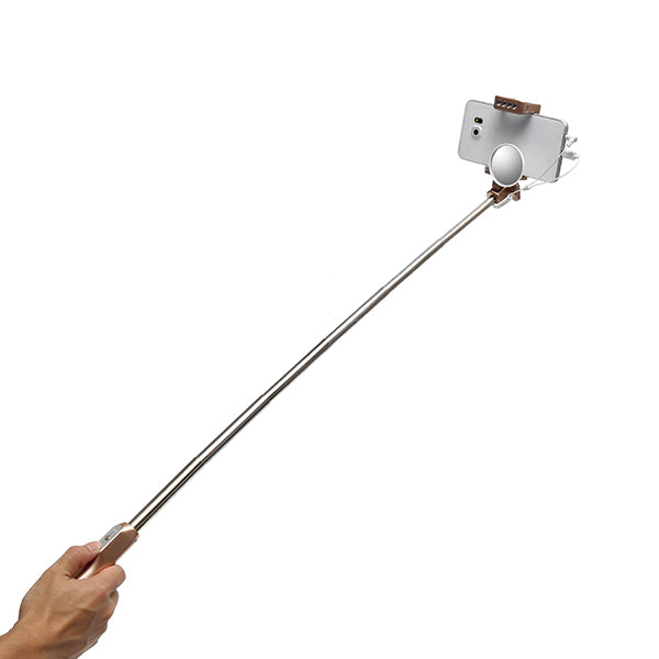 Mlais MX69W 3 in-1 Extendable Cable Selfie Stick Monopod with Mirror