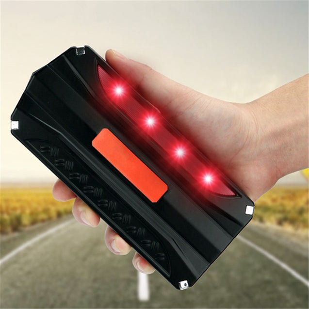 16800mAh 12V Car Jump Starter Rechargeable Lithium Battery Booster Power Bank 4USB Multi-Function