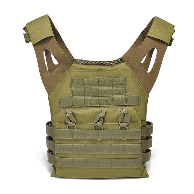 Hunting Tactical Vest Amphibious Battle Military Molle Waistcoat Assault Army Airsoft Combat Bag