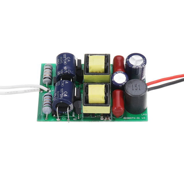 7-15x3W LED Driver Input AC110V-220V to DC 21V-45V Built-in Drive Power Supply Adjustable Lighting for DIY LED Lamps
