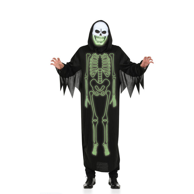 Halloween Party Decoration Supplies Scary COS Clothing Night Light Luminous Skull Male Ghosts