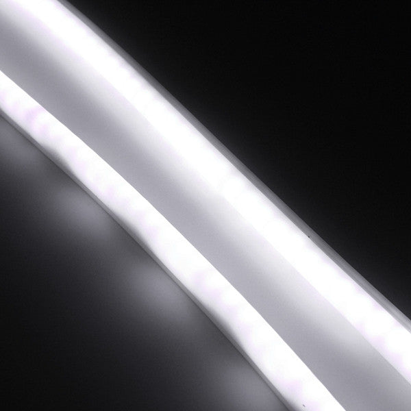 2pcs 85cm DC 12V White Flexible Car DRL LED Daytime Running Light Strip Angel Eye DRL Light Strip