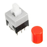 50pcs CJMCU-010 With Lock Button Self-locking Switch Double Row Switch Module