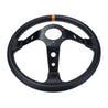 350mm Deep Dish 6 Bolt Wheels Car Racing Drifting Steering Wheel