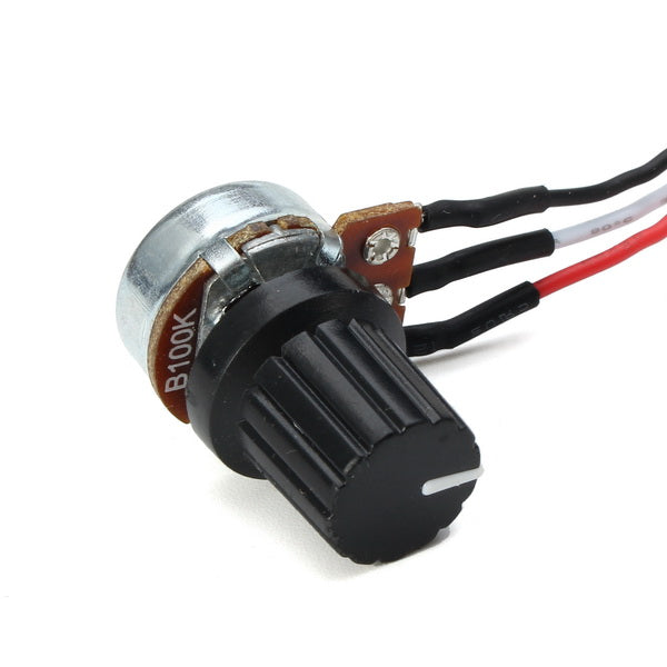 3Pcs PWM DC 9V 12V 24V 48V 60V 20A Stepless Variable Speed Pulse Width Motor Speed Regulation Switch