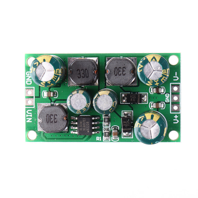 3pcs 2 in 1 8W 3-24V to 12V Boost-Buck Dual Voltage Power Supply Module for ADC DAC LCD OP-AMP Speaker