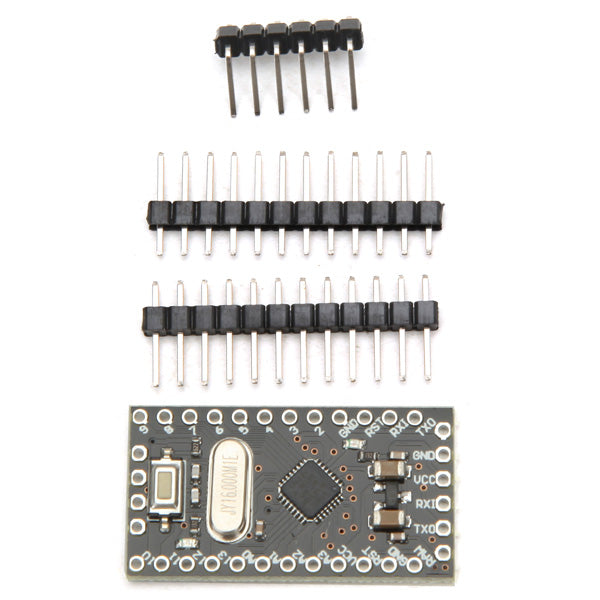 3Pcs Geekcreit Pro Mini ATMEGA328P 5V / 16M Improved Version Module For Arduino