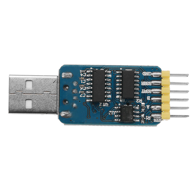 3Pcs 6 In 1 CP2102 USB To TTL 485 232 Converter 3.3V / 5V Compatible Six Multifunction Serial Module