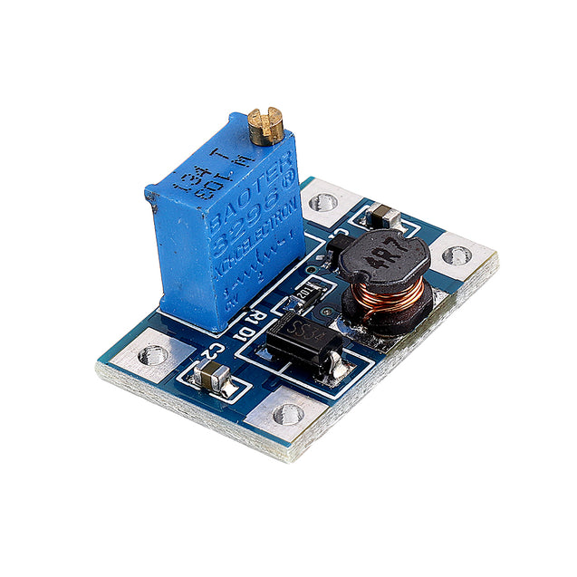 SX1308 DC-DC 2V-24V to 2V-28V 2A Adjustable Boost Regulated Power Supply Module High Current