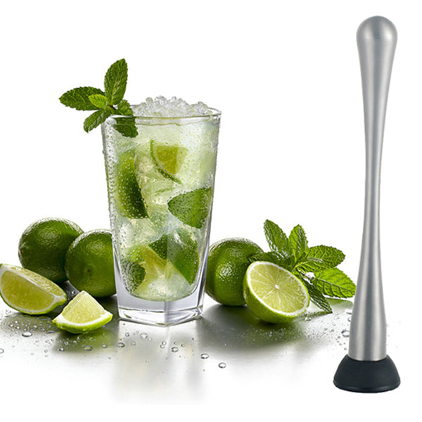 Stainless Steel Cocktail Mojito Mixer Muddler Ice Crushed Hammer Bar Accessories