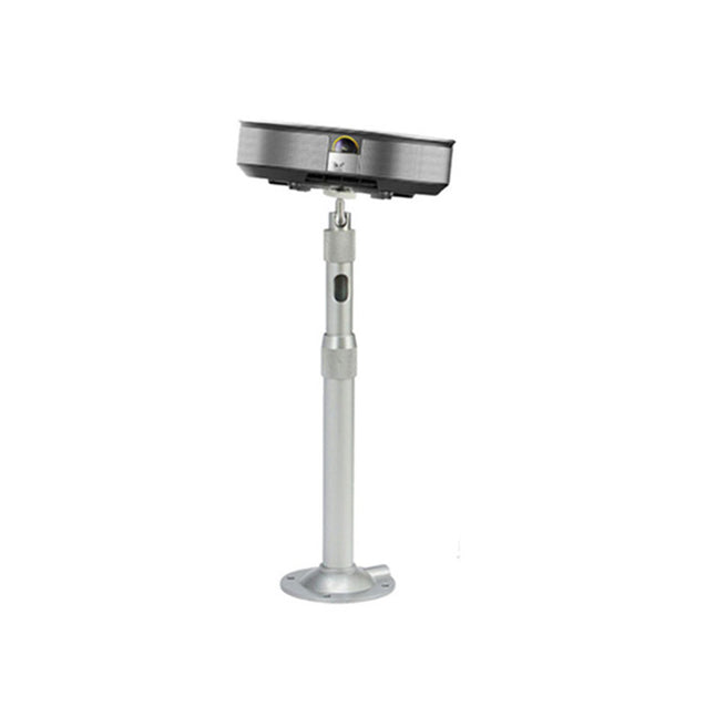 360 Adjustable Extendable Aluminum Alloy Silver Ceiling Mount Bracket For DLP LCD Mini Projector