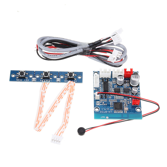 NE5532 Wireless Stereo Sound Module Bluetooth 4.0 Audio Receiver Board Wide Voltage Conversion OP AMP for Car Phone