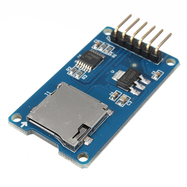 30pcs Micro TF Card Memory Shield Module SPI Micro Storage Card Adapter For Arduino