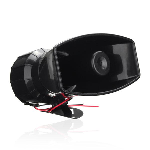 100W 12V Boat Warning Alarm 7 Sound Loud Car Wireless Fire Horn Speaker System 125 DB