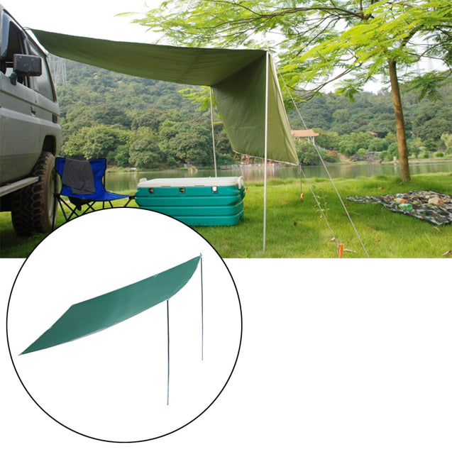 2.8 1.8m Sunshade Tent Car Outdoor Camping Roof Top Tent Folding Anti-UV Car Canopy