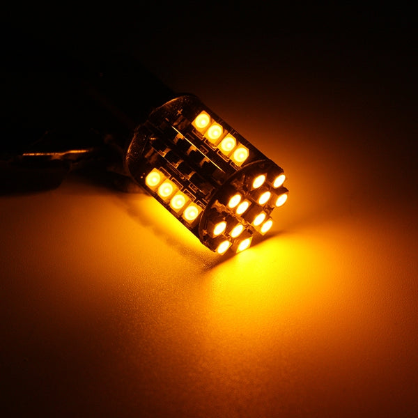 44 SMD LED 581 1156 Canbus Error Free Turn light Reversing light Indicator Amber