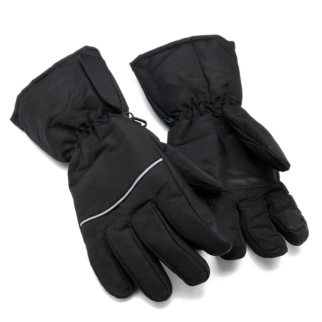 Winter Electric Battery Powered Heated Thermo Gloves Motorcycle Hunting Hand