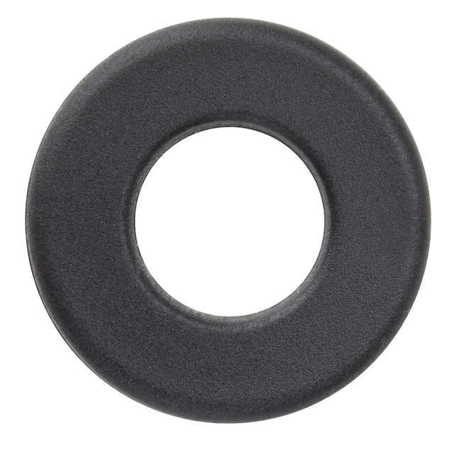 Pack of 16 Black Nylon Washers for Standard Foosball Tables