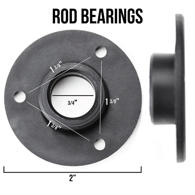 Pack of 16 Rod Bearings for Standard Foosball Tables