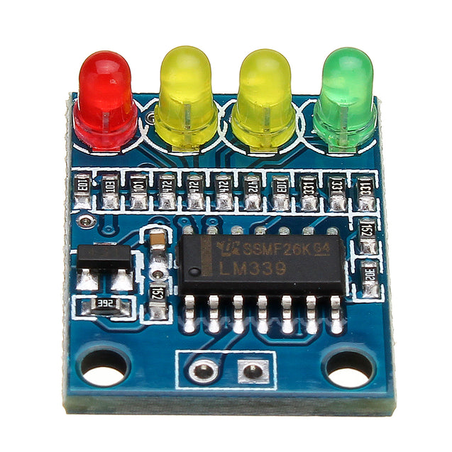3pcs FXD-82B 12V Battery Indicator Board Module Load 4 Digit Electricity Indication With LED Lamp