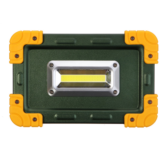 30W 3.7V LED COB Work Lantern Spot Flood Light USB Rechargeable Camping Tent Lamp