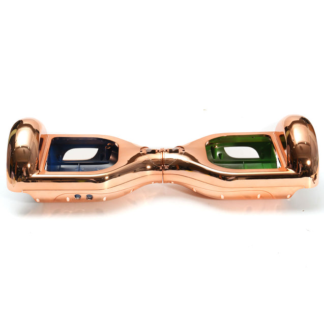 BIKIGHT 6.5inch Chrome Rose Gold Shell Scooter Shell For 2 Wheels Self Balancing Electric Scooter