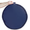 "Blue 18"" Round Zafu Meditation Cushion"