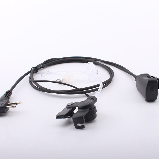 Interphone Air Duct Headphone M Connector Volume Adjustment Earphone