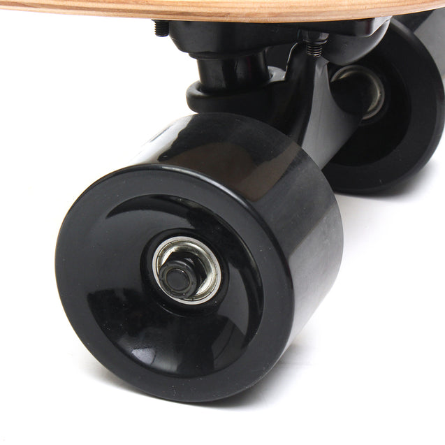 BIKIGHT 250W 18km/h Electric Skateboard Wireless Remote Control Longboard Skate For Kids Adults